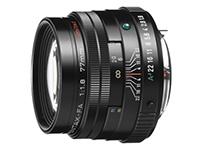 smc FA 77mm f/1,8 black Limited Edition